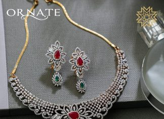 Luxury Diamond Necklace From Manubhai Jewels
