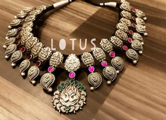 Majestic Silver Necklace From Gold Lotus Silver Jewellery