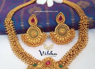 Outstanding Necklace Set From Vibha Creations