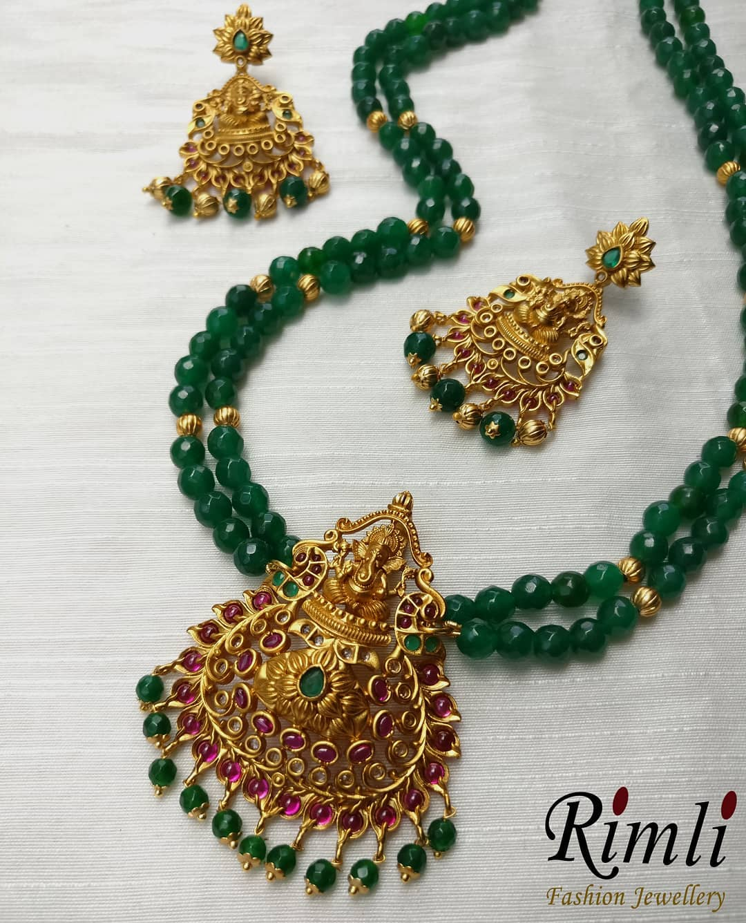 Precious Ganesa Necklace From Rimli Boutique