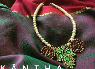 Pretty-Handmade Beaded Necklae From Jaya's Handiwork