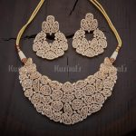 Sparkling Necklace Set From Kushal's Fashion Jewellery