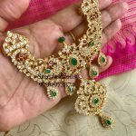 Stunning Stone Necklace From Sree Exotic Silver Jewelleries