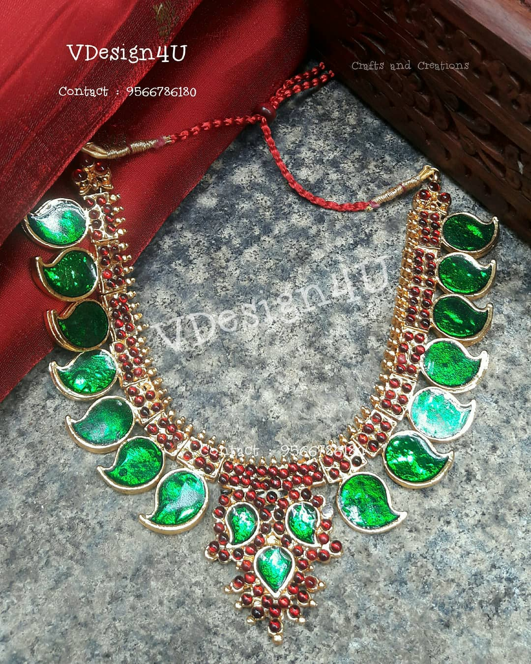 Traditional Handmade Necklace From Vdesign4U
