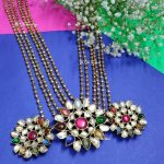 Classic Navarathna Silver Necklace From Bcos Its Silver