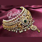 Classic Stone Choker From Gold Lotus Silver Jewellery