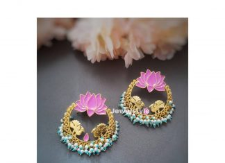 Cute Lotus Earrring From Jewelstyle