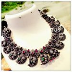Cute Silver Mango Necklace From Gold Lotus Silver Jewelleries
