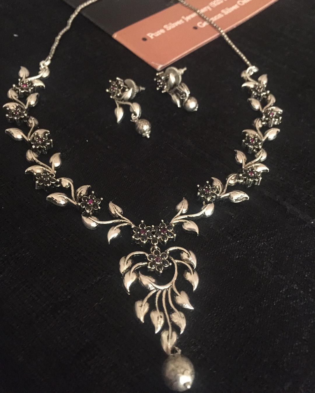 Elegant German Silver From Silver Cravings Jewellery