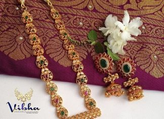 Elegant Long Necklace Collections From Vibha Creations