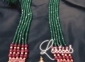 Ethnic Longneckalce From Gold lotus Silver Jewelleries