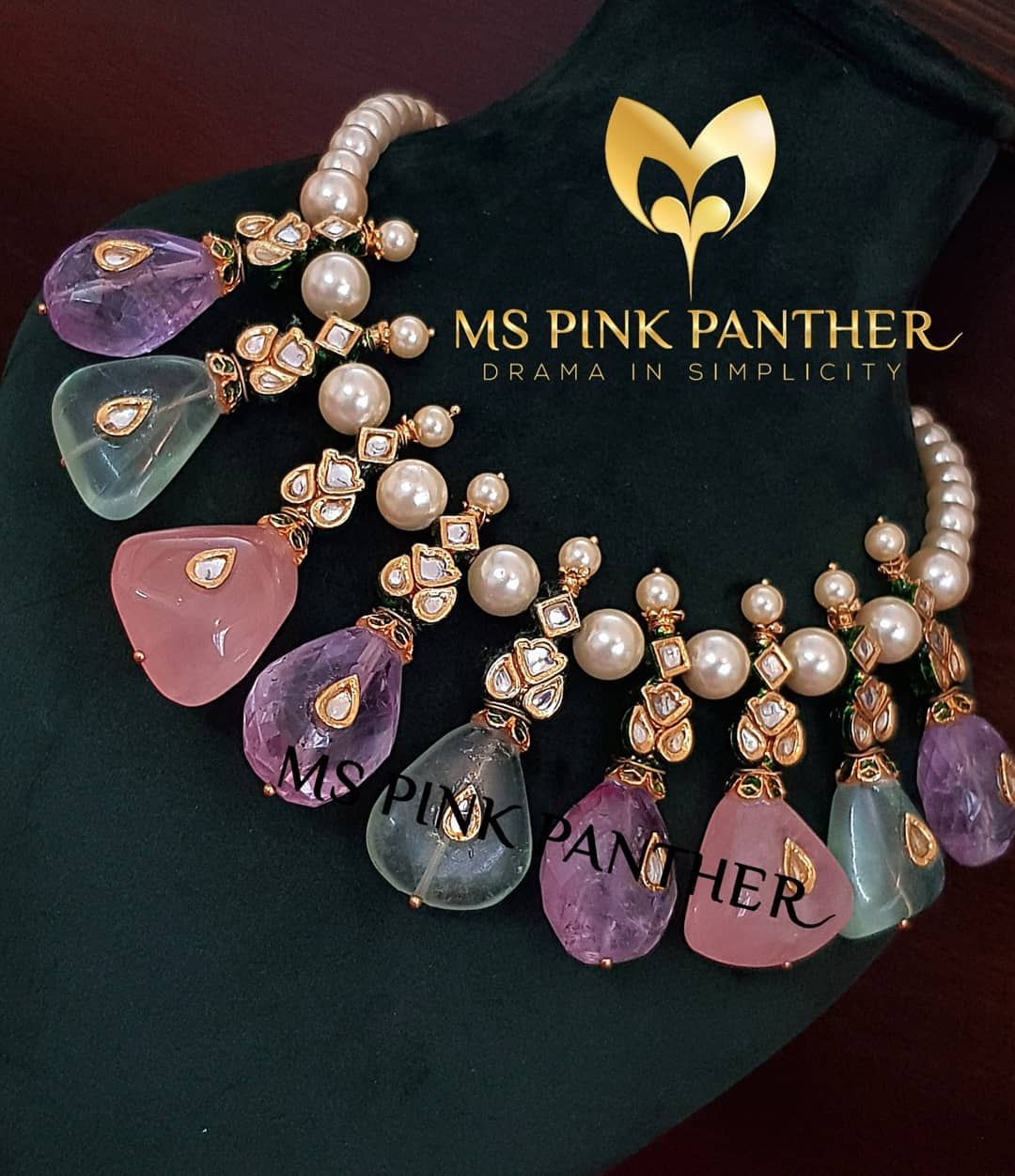 Glamorous Necklace From Ms Pink Panthers