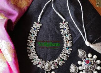 Gorgeous German Silver Necklace From Vriksham