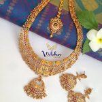 Gorgeous Sleek Long Haram From Vibha Creations