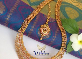 Gorgeous Sleek Long Haram From Vibha Creations