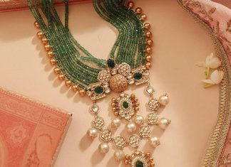 Mind Blowing Gold Necklace From Manubhai Jewellers