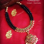 Semi Precious Mango Necklace From Vdesign