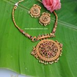 Simple Imitation Necklace Set From Vibha Creations