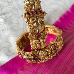 Traditional Temple Bangle From Sree Exotic Silver Jewelleries
