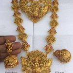 Adorable Bridal Set From Dhruvam
