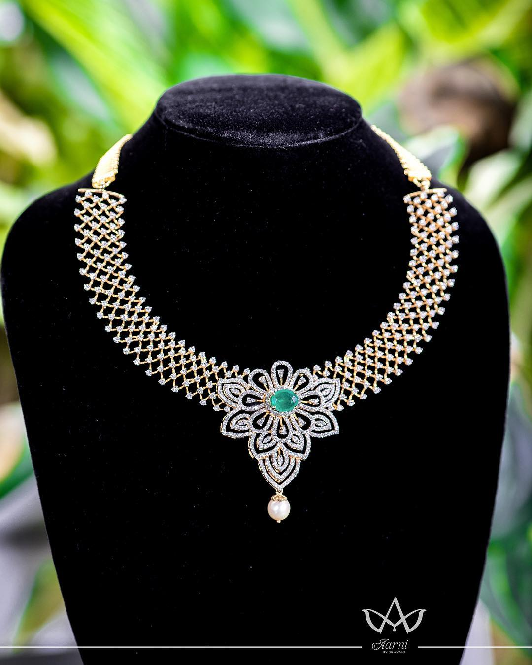 Amazing Necklace From Aarni By Shravani