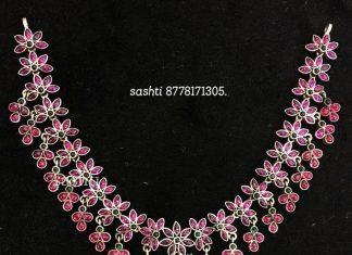 Amazing Necklace From Silver Sashti
