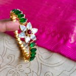 Attractive Silver Bangle From Sree Exotic Silver Jewelleries