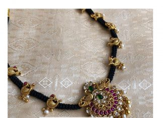 Beautiful Gold Plated Thread Necklace From The Amethyst Store