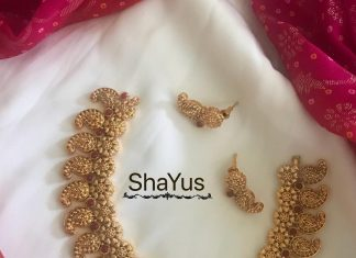Beautiful Mango Necklace From Shayus