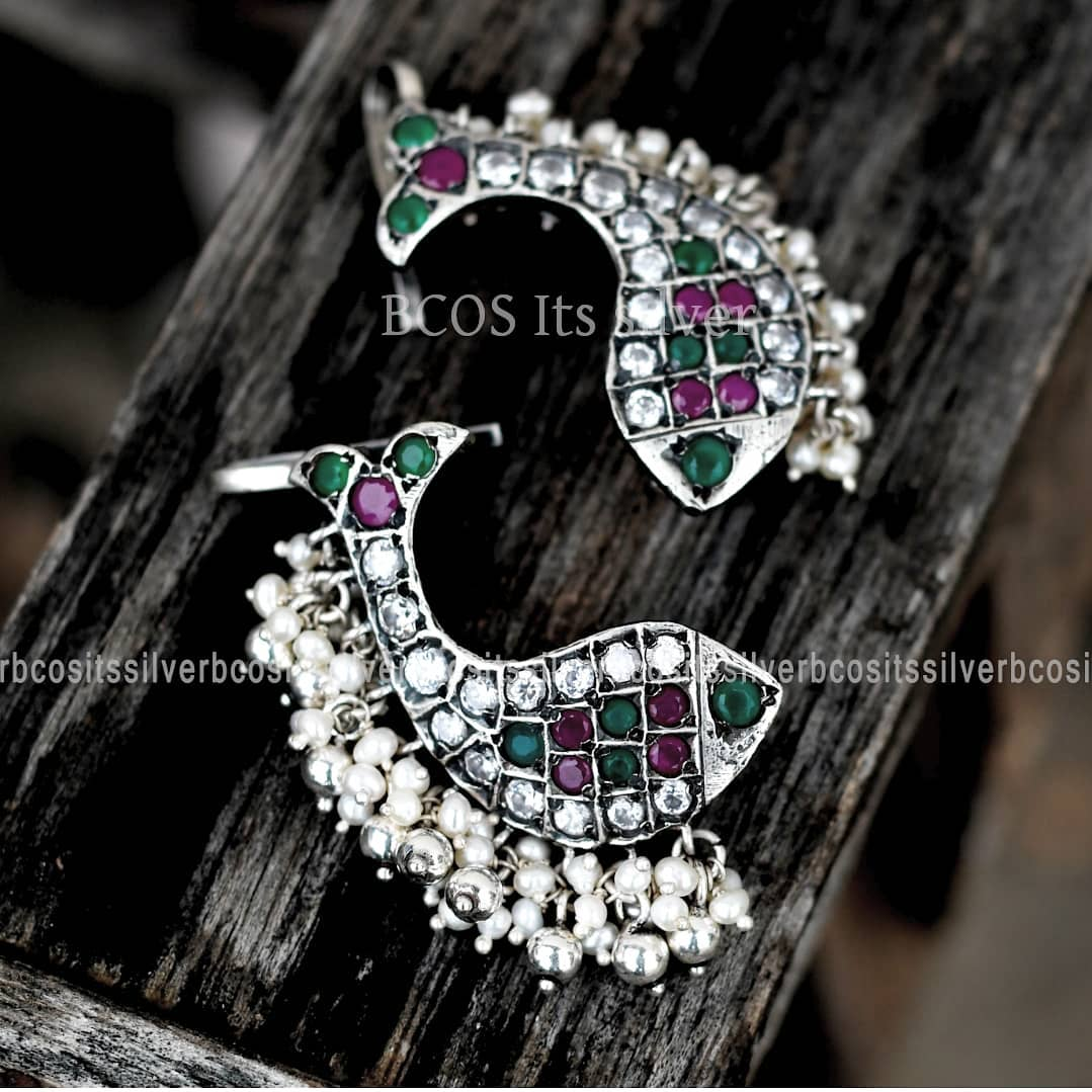 Beautiful Silver Earring From Bcos Its Silver