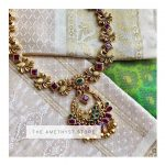 Delightful Silver Gold Plated Necklace From The Amethyst Store