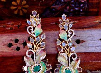 Designer Party Wear Necklace From Meenakshi Jewelleries