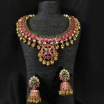 Elegant Necklace Set From Parampariya