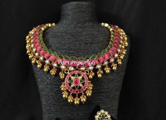 Elegant Necklace Set From Parampariya