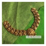 Ethnic Gold Plated Silver Necklace From The Amethyst Store