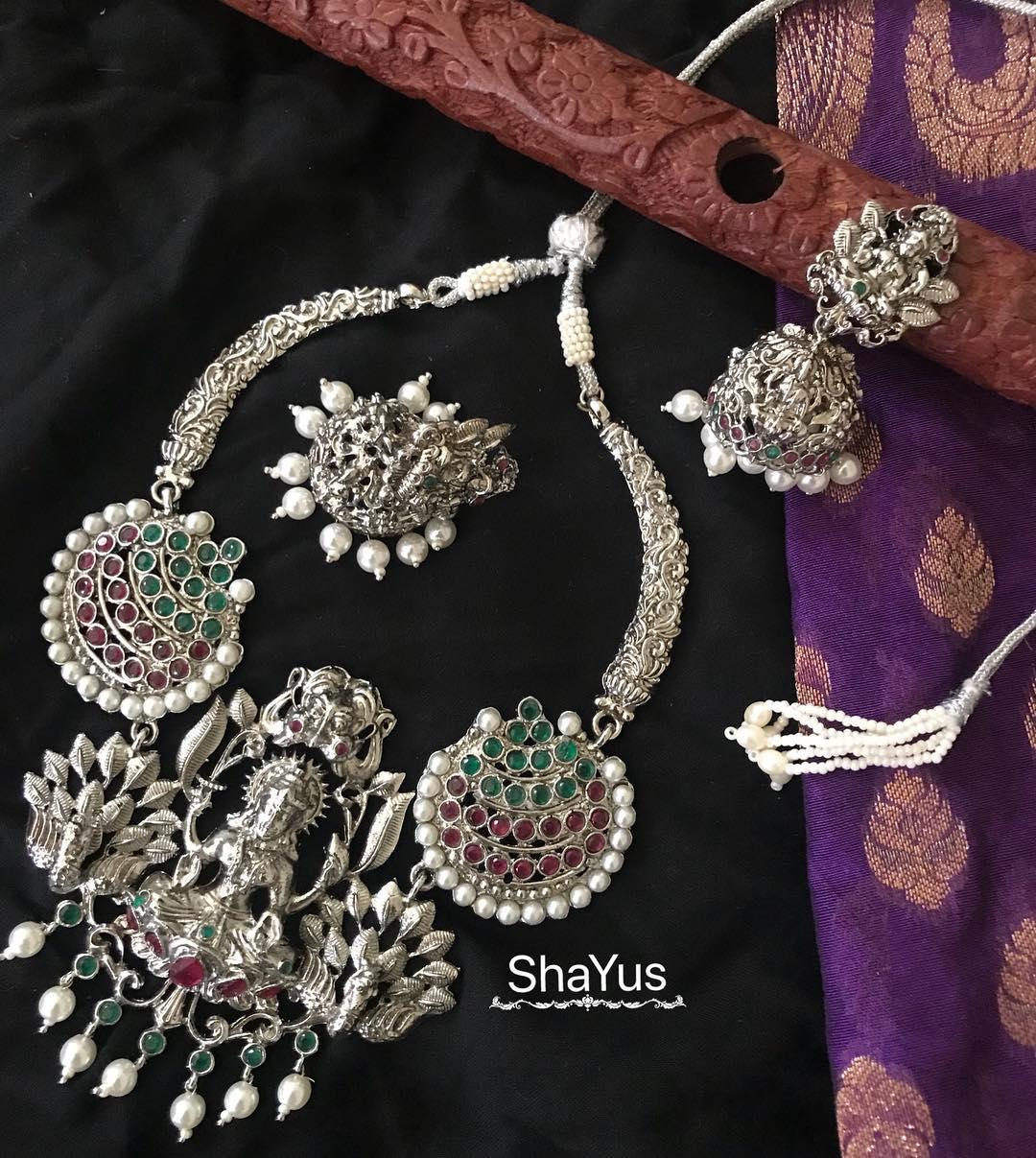 Ethnic Lakshmi Choker From Shayus