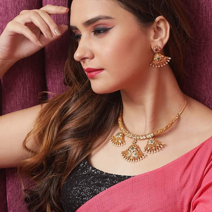 Ethnic Necklace Set From Tarinika