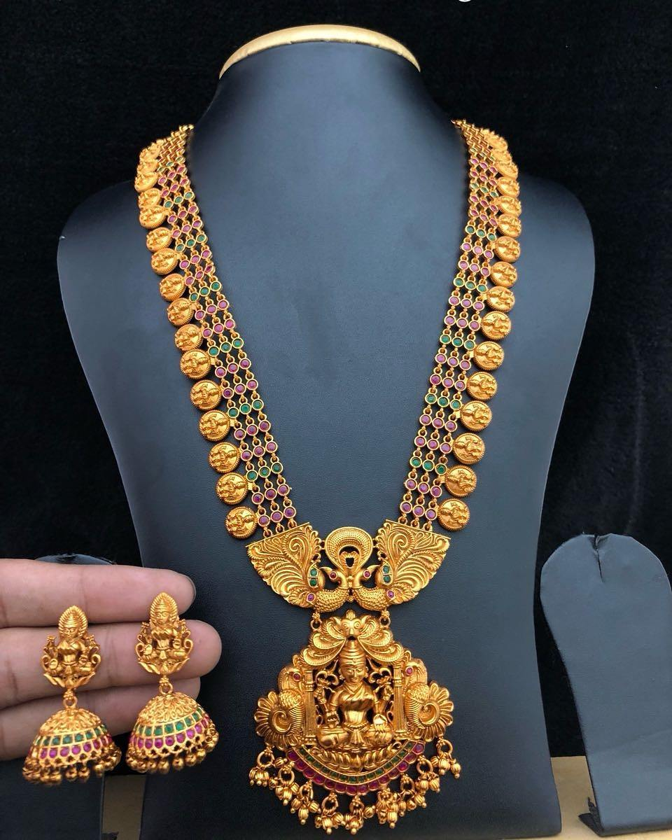 Ethnic Temple Neckalce Set From Alamakara