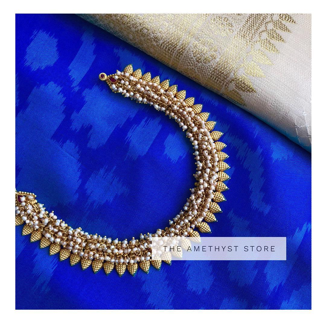 Eye Catching-Gold Plated Silver Necklace From The Amethys Store