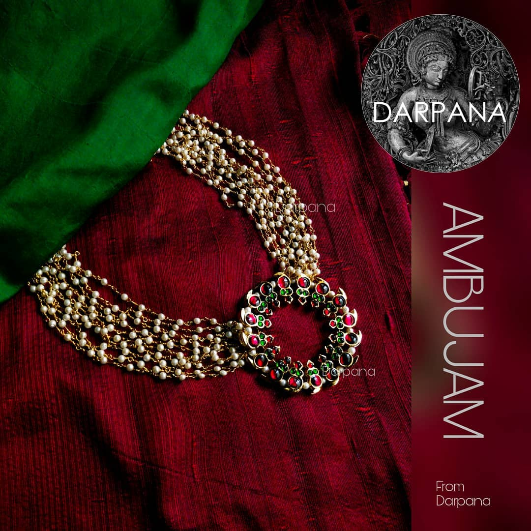 Handmade Kemp Necklace From Darpana