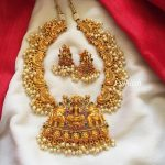 Lakshmi Pearl Neckpiece From Emblish Coimbatore