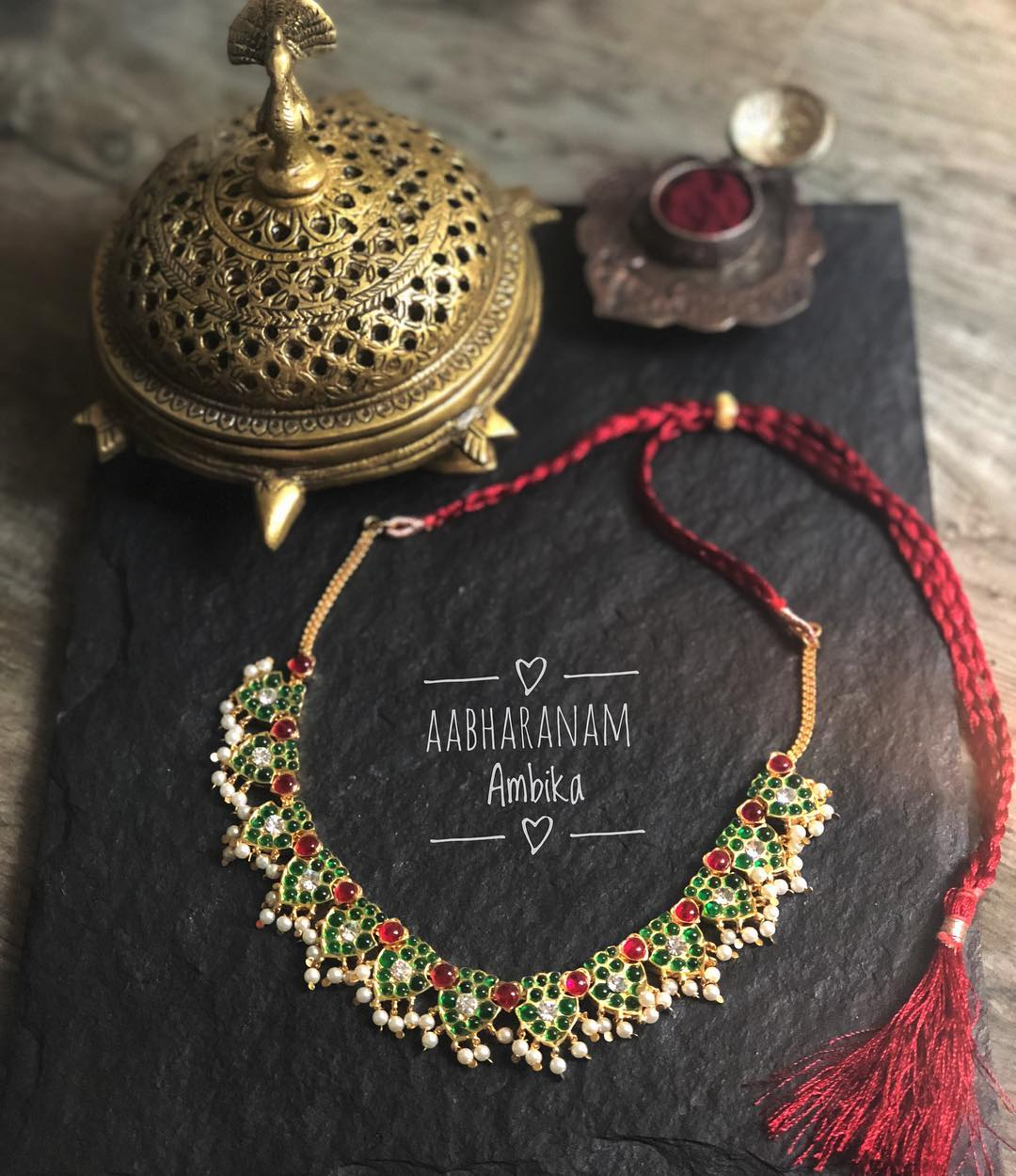 Precious Necklace Collection From Aabharanam