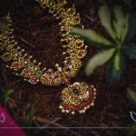 Precious Pure Gold Necklace From Aarni By Shravani