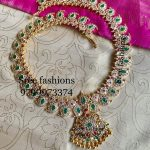 Precious Silver Mango Necklace From Sree Exotic Silver Jewelleries