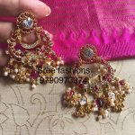Pretty Silver Earring From Sree Exotic Silver Jewelleries