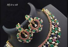 Stunning Colourful Necklace From Abhi's Jewel Hunt