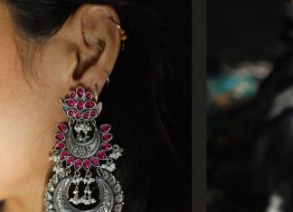 Stunning Silver Earring From Silver Line Jewellery