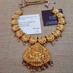 Traditional Gold Plated Silver Necklace From Bcos Its Silver