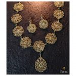 Trendy Gold Necklace From Gehna India