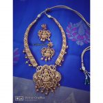 Adorable Necklace Set From Izhaiyini Jewellery